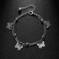 Crystal Beach Foot Anklet Jewelry Gift - Style 7