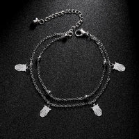 Crystal Beach Foot Anklet Jewelry Gift - Style 9