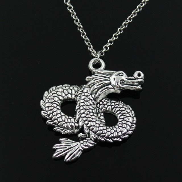 Loong Dragon Pendant Jewelry Gift - 70cm