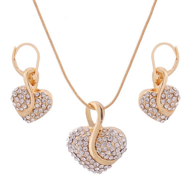 The Cleopatra Heart Shaped Luxury Jewelry Gift - Opal