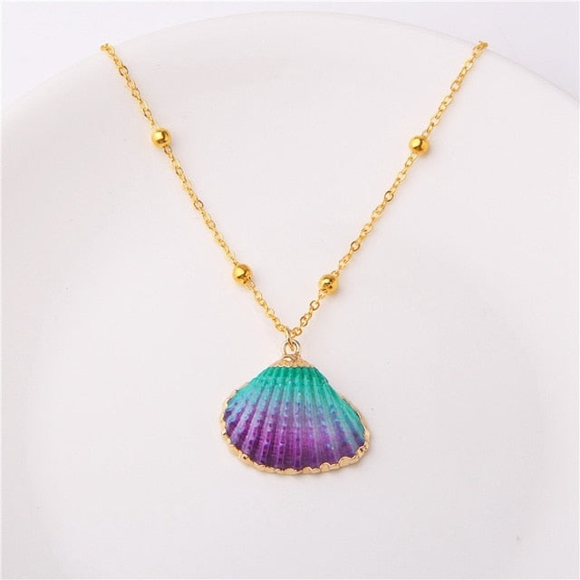M'avina's Sea Shell Necklace Jewelry Gift - style 16