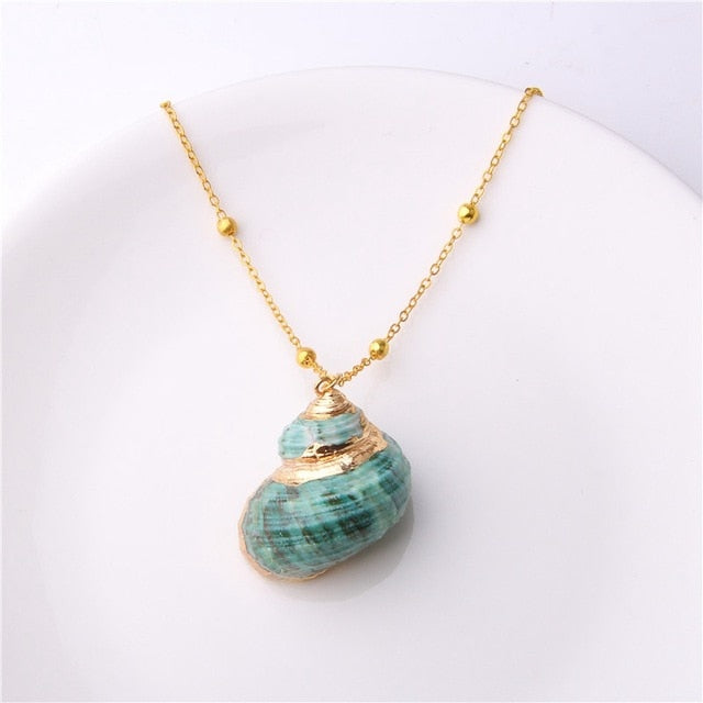 M'avina's Sea Shell Necklace Jewelry Gift - style 24