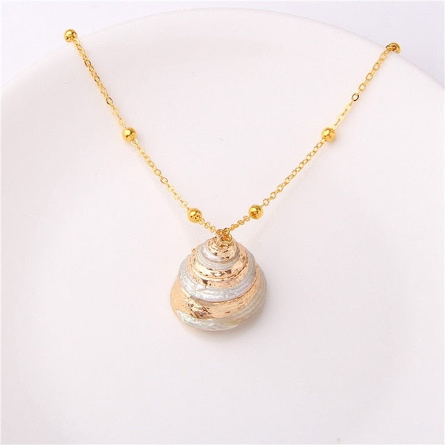 M'avina's Sea Shell Necklace Jewelry Gift - style 15