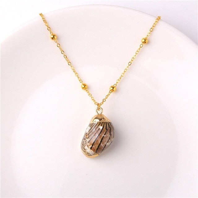 M'avina's Sea Shell Necklace Jewelry Gift - style 14