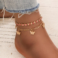 Freyja Multi-layer Ankle Bracelet Set - Style 2