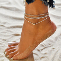 Freyja Multi-layer Ankle Bracelet Set - Style 13