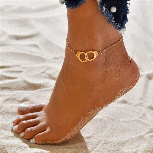 Freyja Multi-layer Ankle Bracelet Set - Style 8