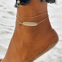 Freyja Multi-layer Ankle Bracelet Set - Style 10