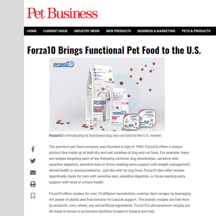 Pet Business Features Forza10!