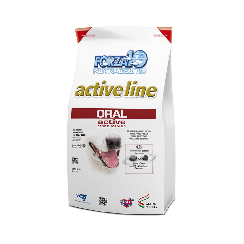 Forza10 Nutraceutic Active Line Oral Support Diet Dry Dog Food