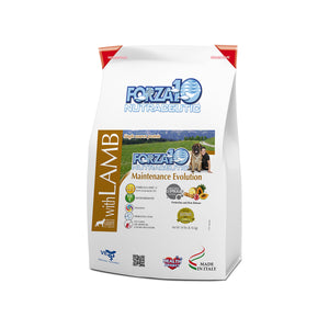 Forza10 Nutraceutic Maintenance Evolution Lamb Dry Dog Food