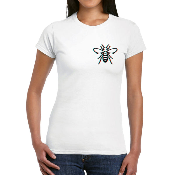 3D Manchester Bee T-Shirt T-Shirts The Manc Store Small