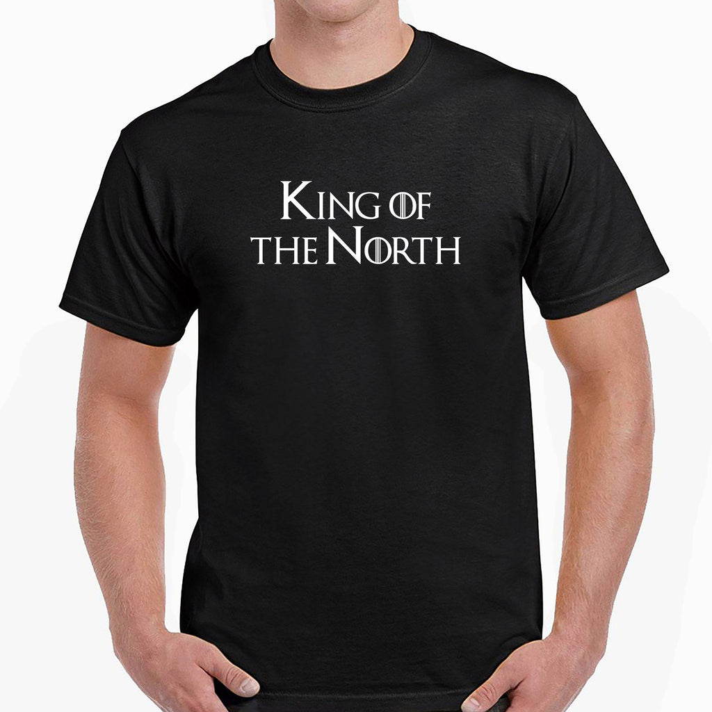 King & Queen of the North T-Shirt T-Shirts The Manc Store Small Black King