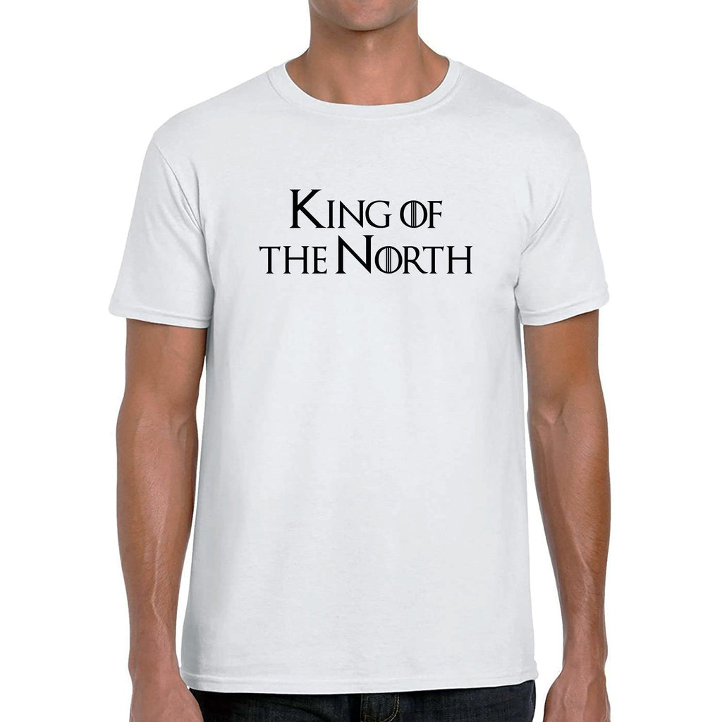 King & Queen of the North T-Shirt T-Shirts The Manc Store Small White King
