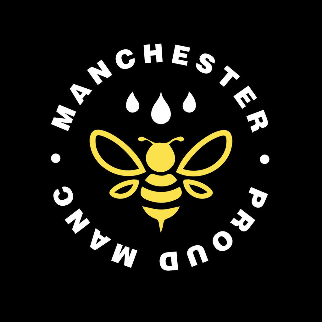 Manchester Worker Bee Pocket Emblem T-Shirt T-Shirts The Manc Store