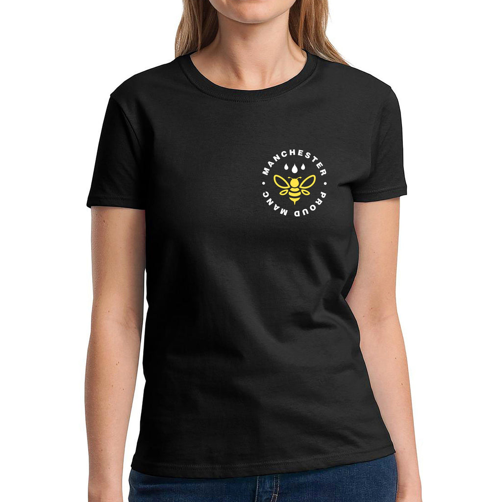 Manchester Worker Bee Pocket Emblem T-Shirt T-Shirts The Manc Store Small F