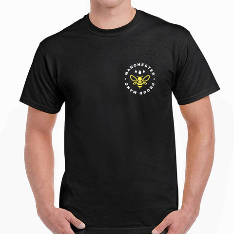 Manchester Worker Bee Pocket Emblem T-Shirt T-Shirts The Manc Store Small M