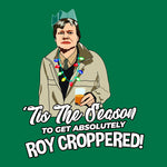 Roy Croppered - Unisex Christmas Jumper Christmas Jumpers The Manc Store