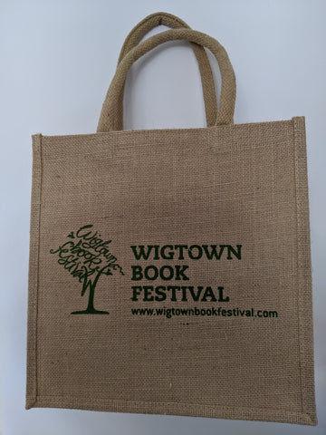 Wigtown Book Festival Jute Bag