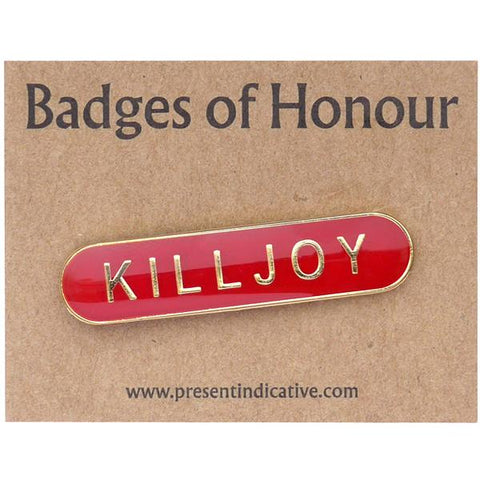 Killjoy Enamel Pin