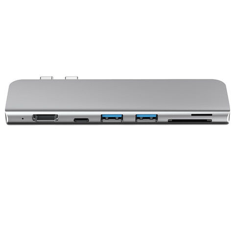 7 in 1 USB C HUB For MacBook Pro/Air