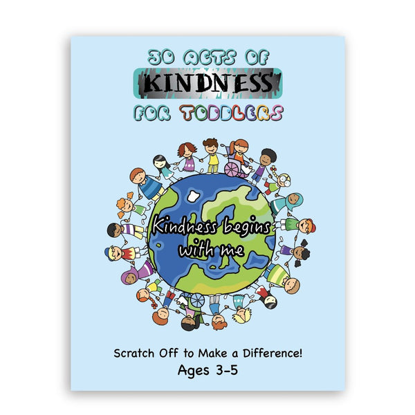 Acts of Kindness Scratch Booklet for Toddlers Activity Hearts of Gems