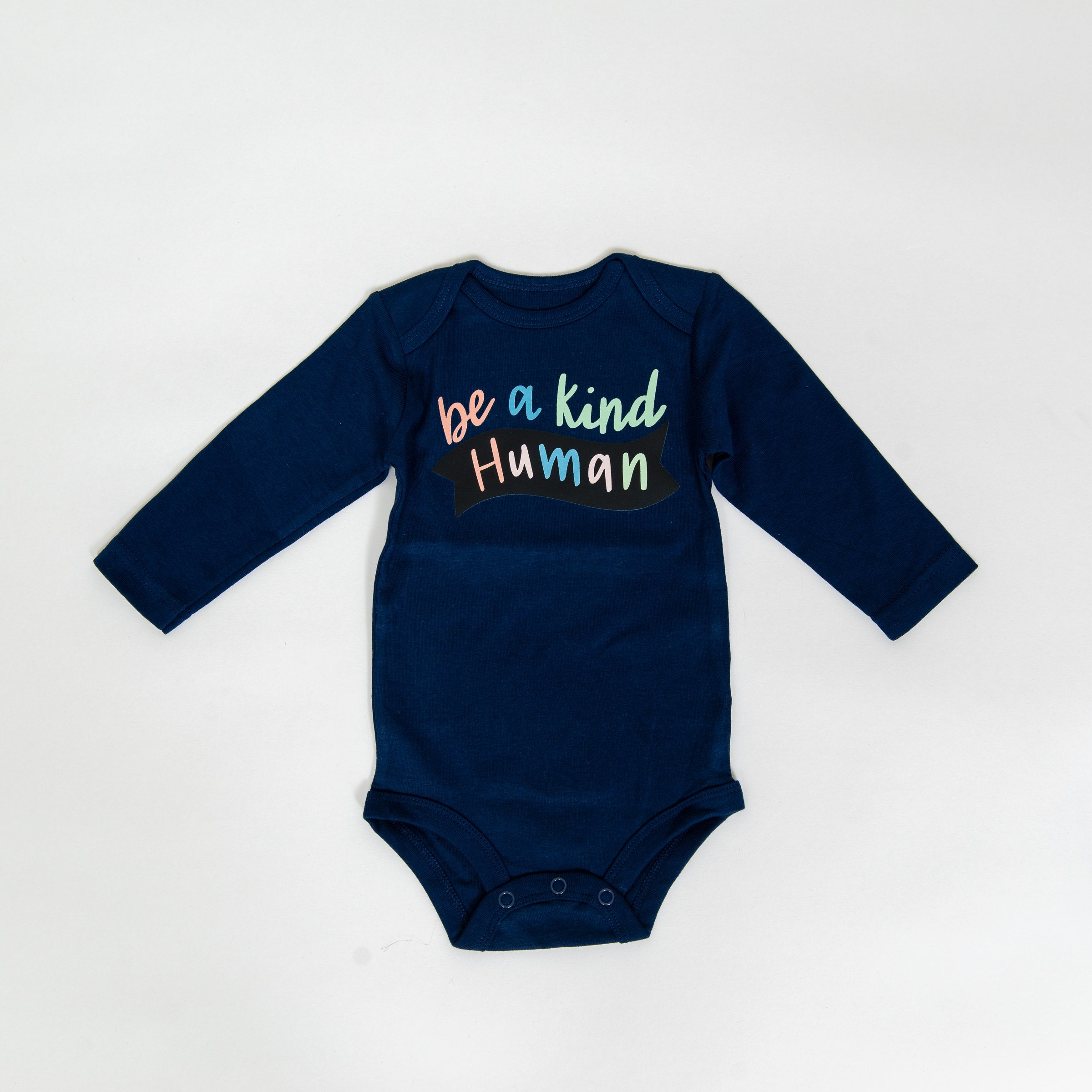 Be A Kind Human Bodysuits