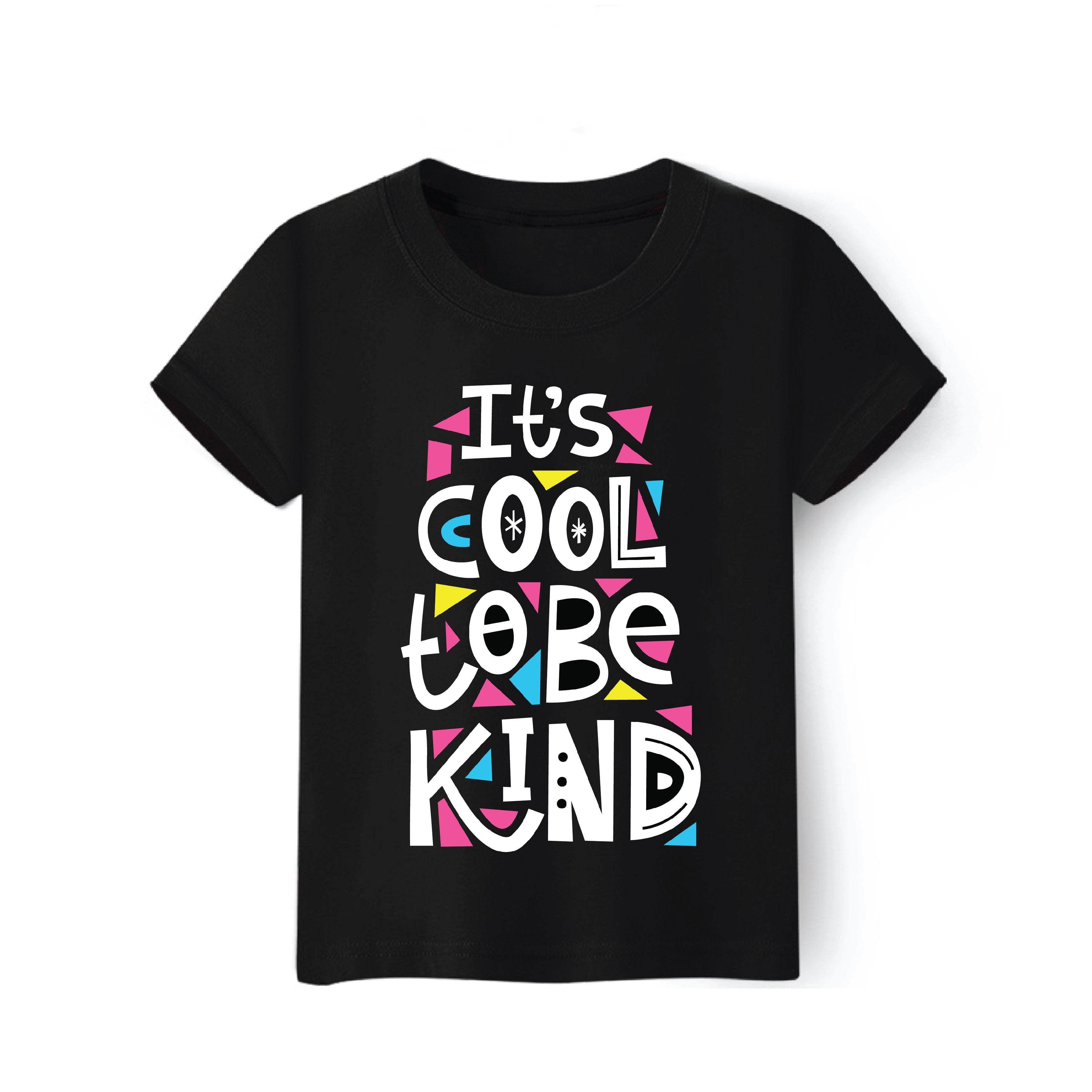 Cool To Be Kind T-Shirt for Toddlers