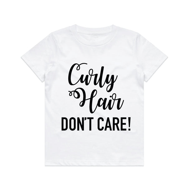 Curly Hair Tee Shirts Hearts of Gems
