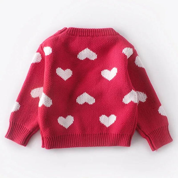 Hearts Sweater Sweater Hearts of Gems