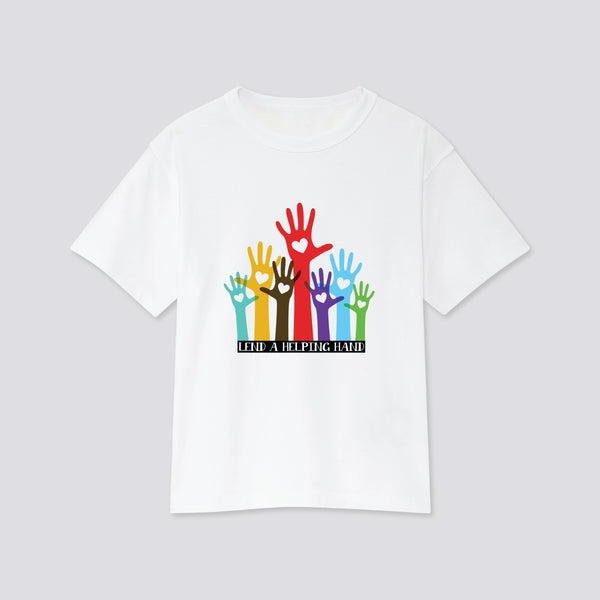 Helping Hand T-Shirt Shirts Hearts of Gems