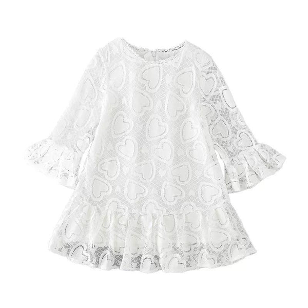 Lace and Love Dress Dress Hearts of Gems
