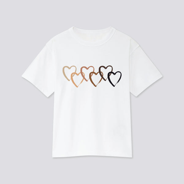 Love All T-Shirt Shirts Hearts of Gems