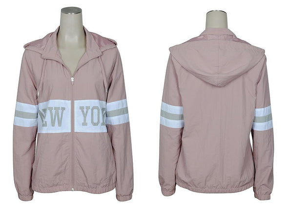 New York Hooded Windbreaker