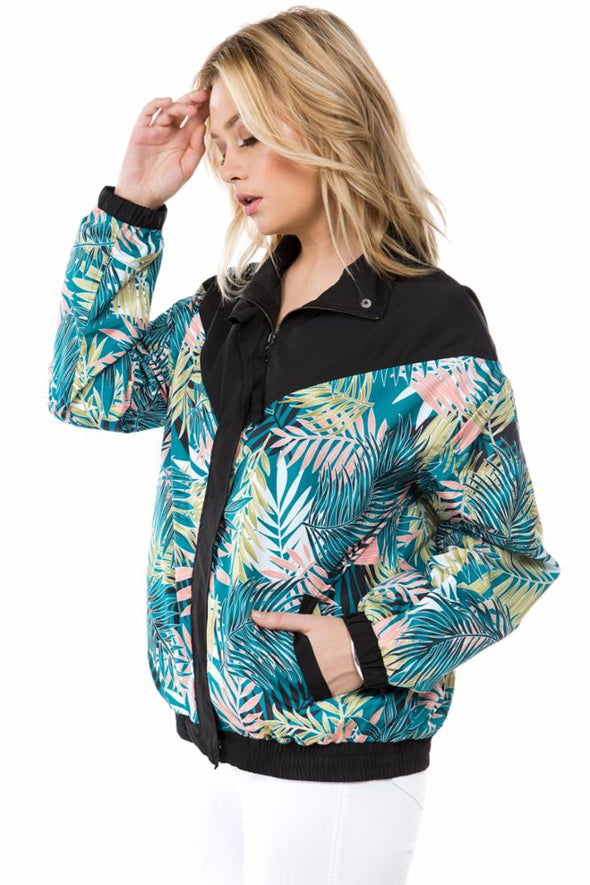 Palm Windbreaker