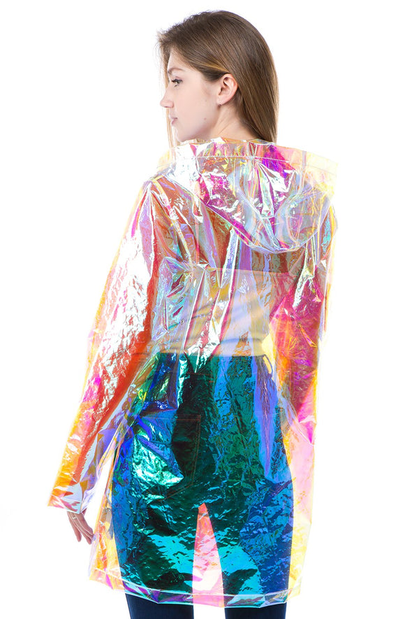 Hologram Rain Jacket