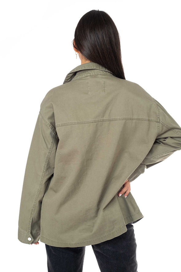 Patch Pocket Twill Jacket