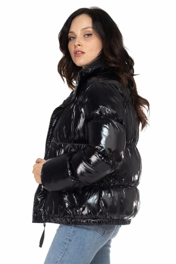 Shiny Nylon Puffer