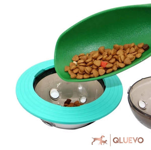 UFO Frisbee Dispensing Pet Treat Ball