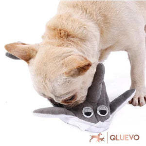 Shark Snuffle Pet Treat Finder Toy
