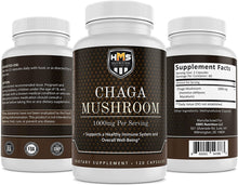 Load image into Gallery viewer, Chaga Mushroom - 1000 mg