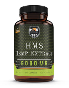 Hemp Extract Supplement - 6000mg