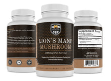 Load image into Gallery viewer, Lion's Mane Mushroom Supplement - 1000mg
