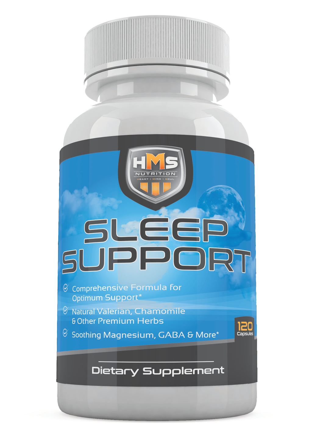 Sleep Supporting Supplement - 120 Vegetable Capsules (60 Day Supply)