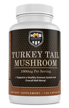 Load image into Gallery viewer, Turkey Tail Mushroom Supplement - 1000mg