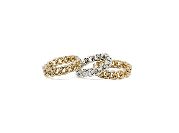 Linx Chain Ring - Lauren Newton Jewelry