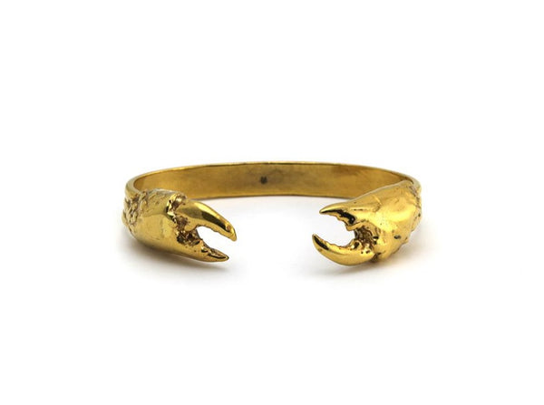 Large Crab Claw Cuff - Lauren Newton Jewelry