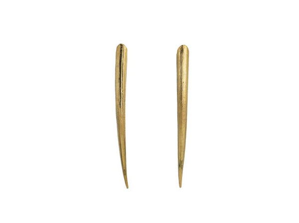 Tusk Earrings - Long - Lauren Newton Jewelry