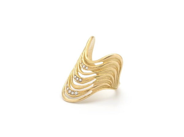 Wave Ring - Lauren Newton Jewelry
