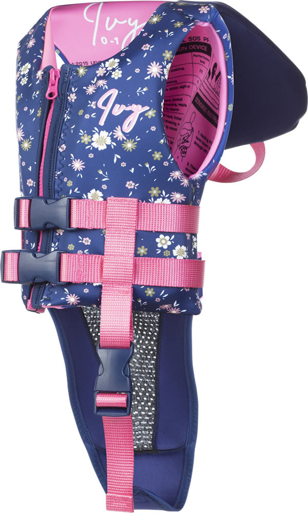 2021 IVY JUNIOR GIRLS WILDFLOWER VEST WITH COLLAR